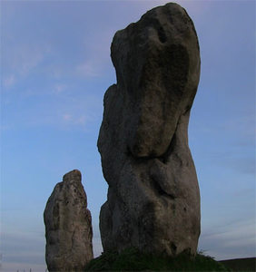 Avebury Stones ©Brian T Collins  displayed on Omega432.com  -Brian T Collins